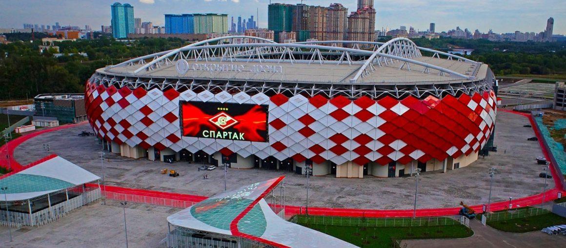 """Стадион """"СПАРТАК"""" открытие Арена"""