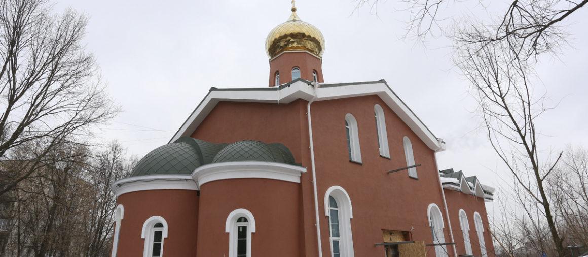 Храм в честь священномученика Ермогена, патриарха Московского и всея Руси, в южном Тушино