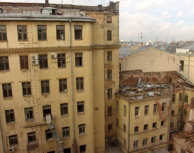 Реконструкция гостиницы Центральная на Тверской улице